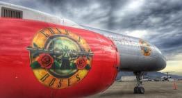 Banda de Rock Guns N' Roses virá ao Brasil com Boeing 757 personalizado