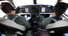 Aeronave IU-50 Legacy do GEIV homologa procedimento de navegação satelital