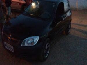 Polícia Militar recupera carro roubado em Baraúna-PB