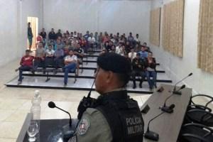 Polícia Militar realiza reunião preparatória para o São Pedro de São Vicente do Seridó-PB