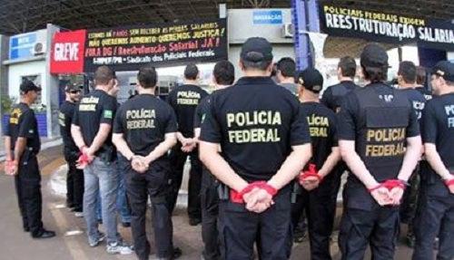 POLÍCIA FEDERAL EM ALERTA DE GREVE