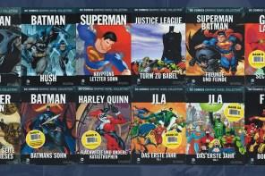 Aê! Coleção Eaglemoss de Graphic Novels da DC está oficializada!