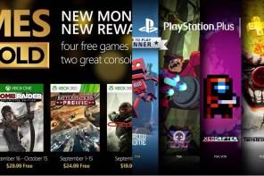 Gold & Plus   Os games gratuitos de setembro/2015!