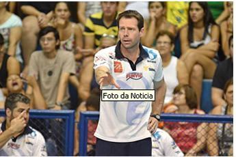 O técnico Cezar Douglas, da Funvic Taubaté (Foto: Jonas Barbetta/ Tuddo Comunicação)