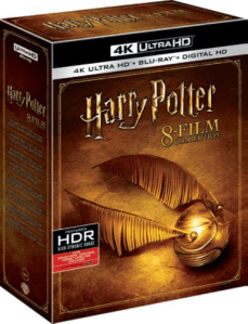 Cofanetto Harry Potter 4K