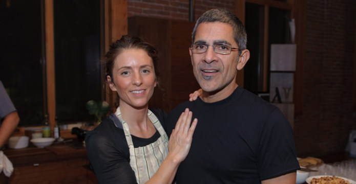 Chef and Owner of Studio Define, Morgan Dancer, and Chef Chris Israel of Gruner