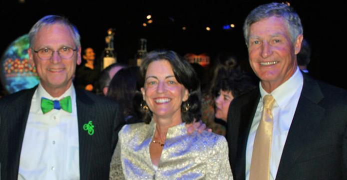 Congressman Earl Blumenauer and his wife, Margaret with Jon Jaqua