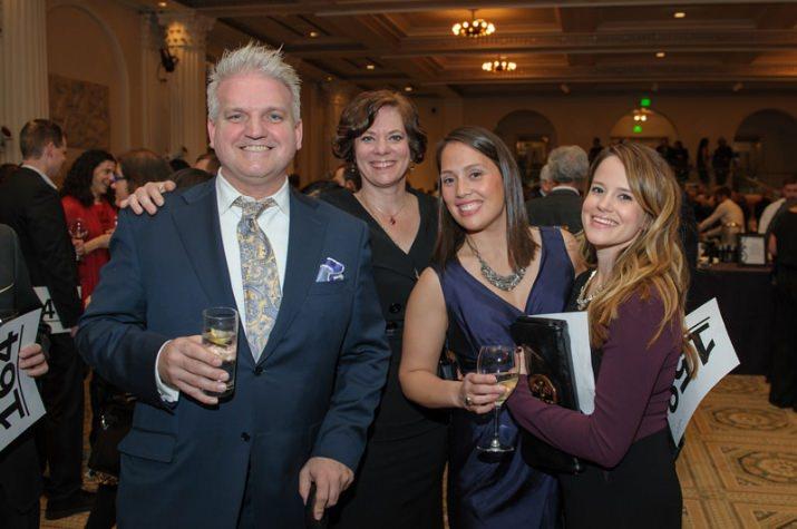 Todd Passerini, Heather Gordon, Julia Chan and Emily Kistler