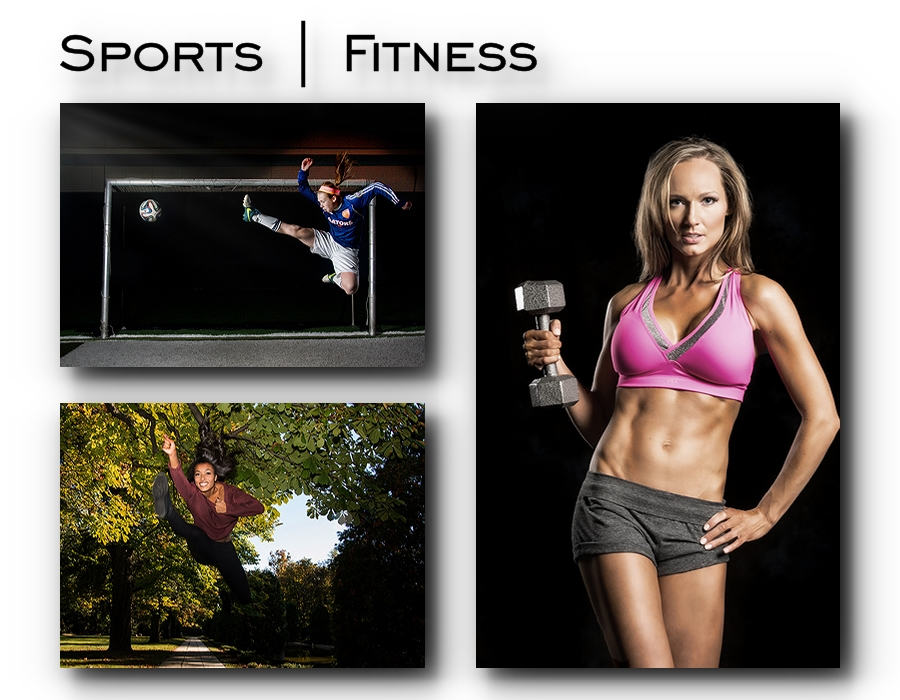 sports and fitness portraits in Oakland and Macomb