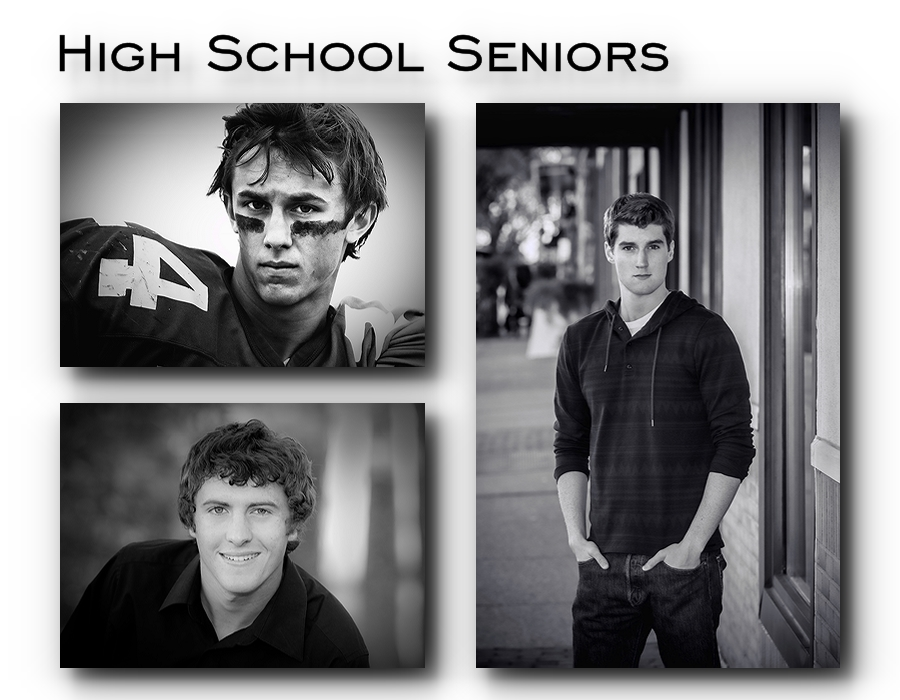High School Senior Pictures - Guys - Oakland and Macomb