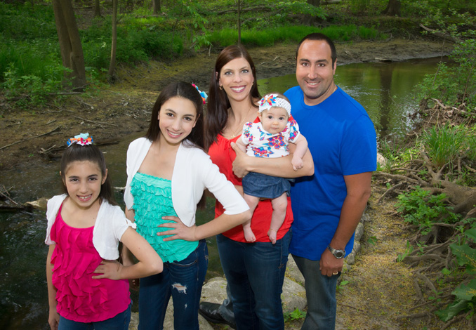 Croce Family Portrait Sterling Heights Macomb 2