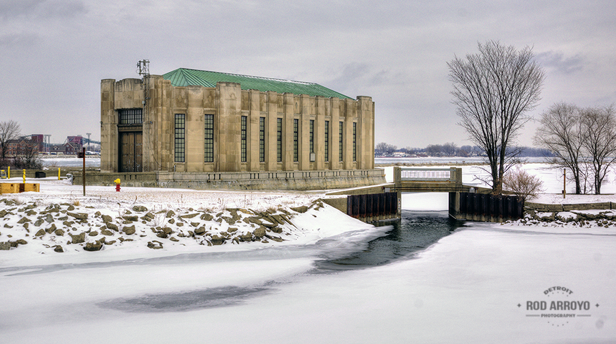 Belle Isle Historic Water House