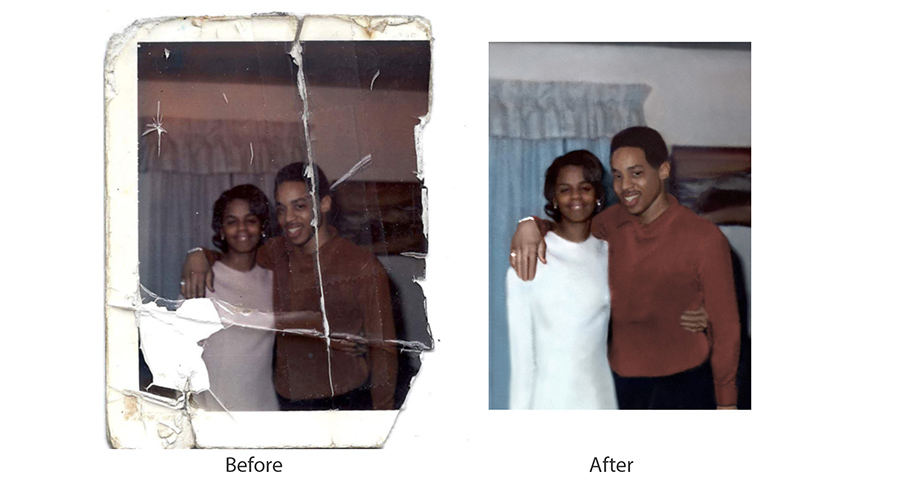 Restore Damaged Photos
