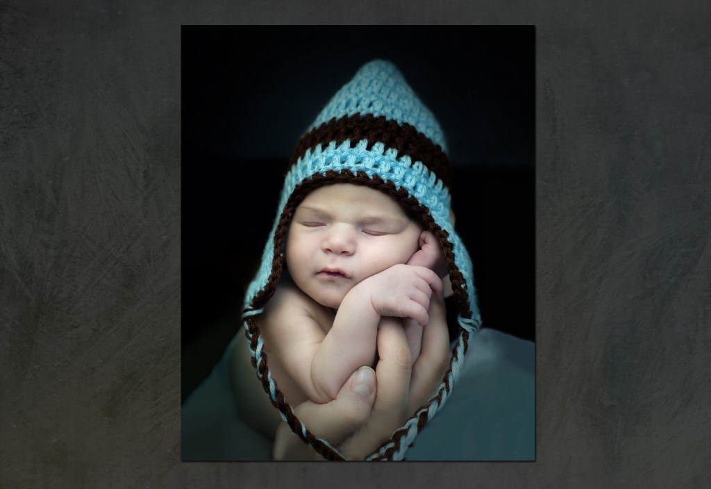 Newborn Portrait - Royal Oak, Michigan - Oakland County