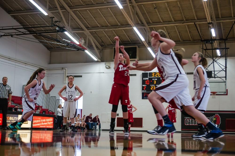 8th Grade Trinity Utica Warriors Basketball