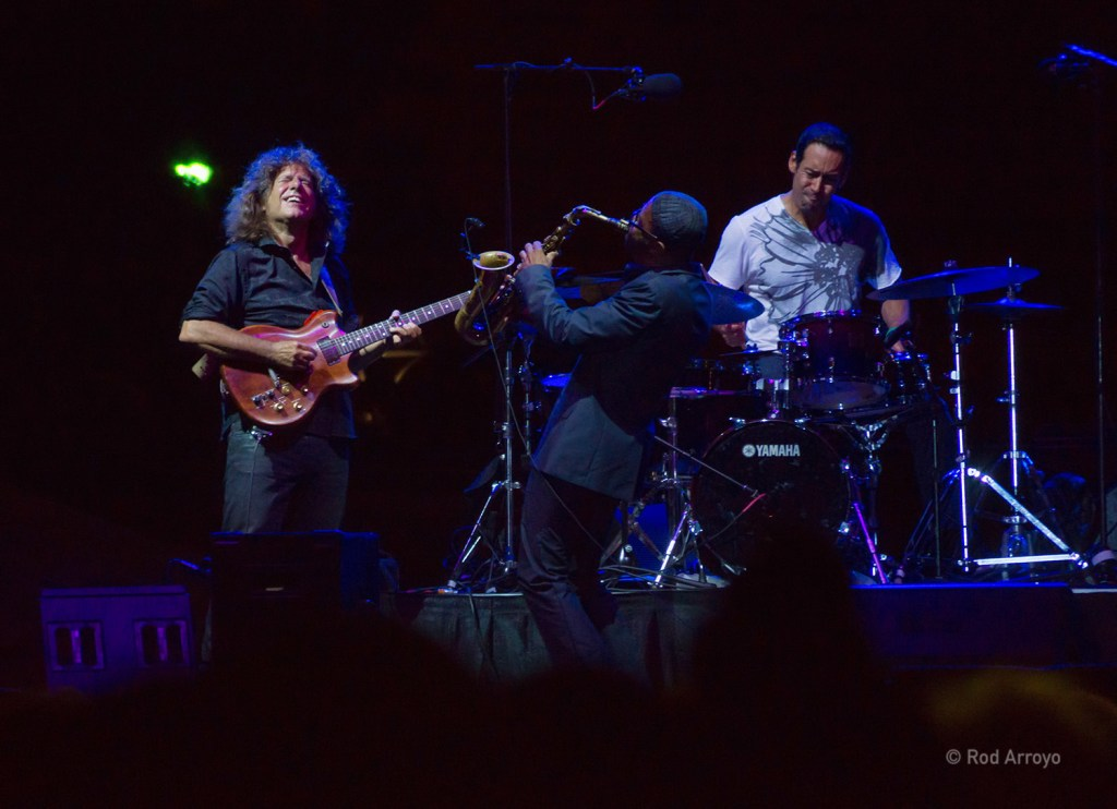 Pat Metheny, Kenny Garrett, and Antonio Sanchez