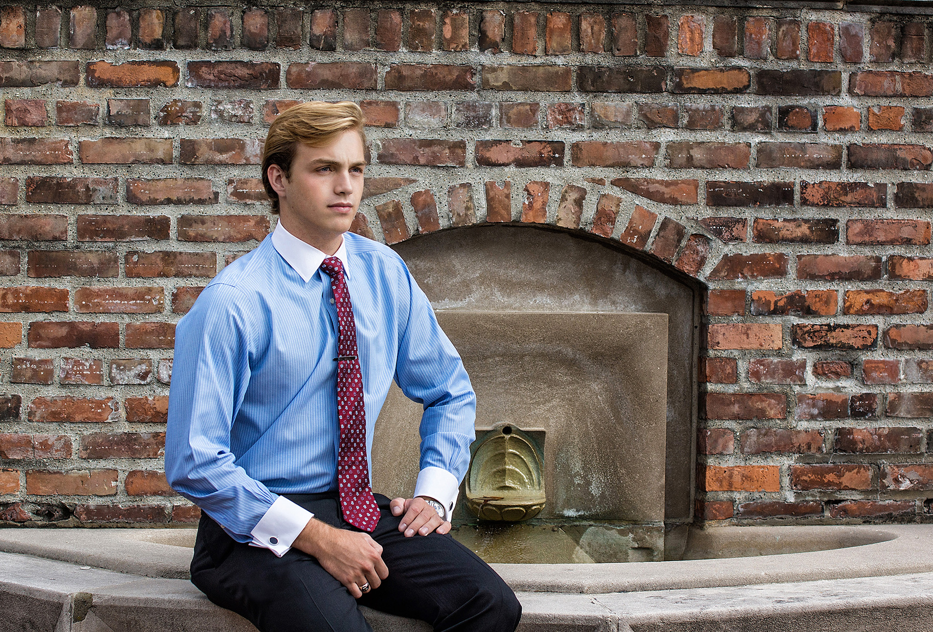 Cranbrook School Senior Portrait