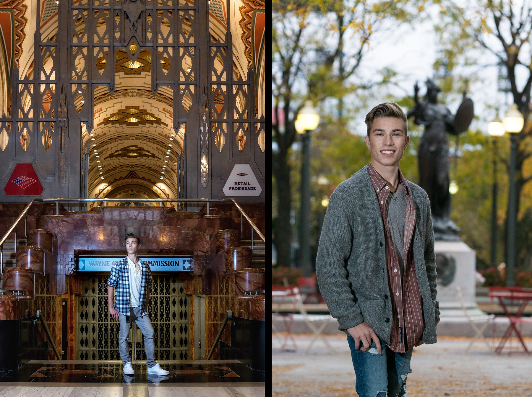 Macomb Dakota High School Senior Portraits