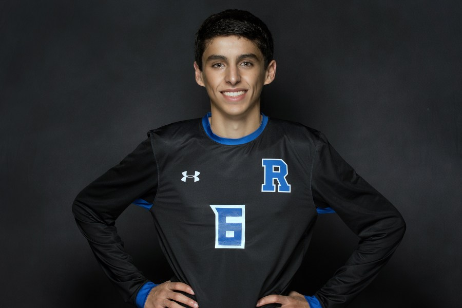 Rochester High School Senior Picture - Soccer Portrait - Evan Hubble
