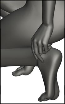 Female Kneeling Figure Reference Pose - Set 01