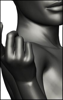 Female Gesture Pose for Figure Reference and Figure Drawing