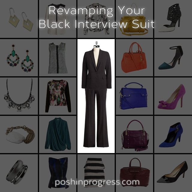 Revamping Your Black Interview Suit
