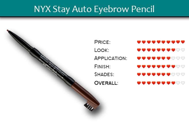 NYX Stay Auto Eyebrow Pencil