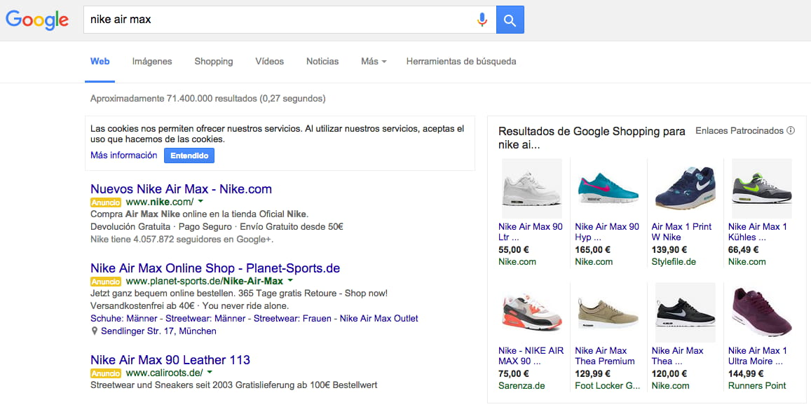 google shoping