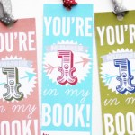 Printable Valentine Bookmarks + A Valentine's Day Link Party!
