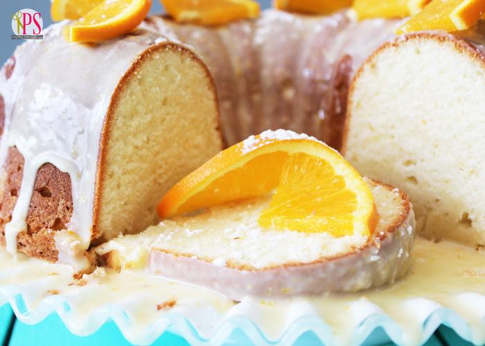 Orange Dreamsicle Pound Cake Recipe :: PositivelySplendid.com