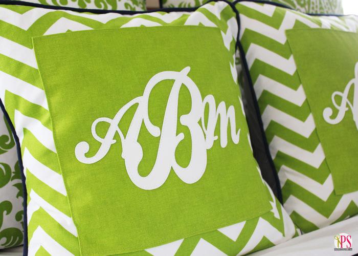 monogram pillow cover 2