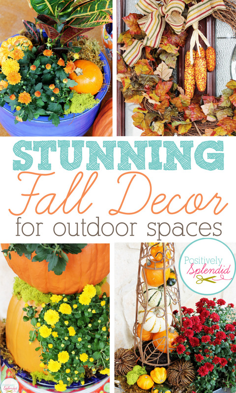 Stunning Fall Decor Ideas for Outdoor Spaces at Positively Splendid