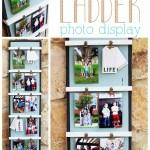 DIY Ladder Photo Display #3MDIY