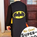 No-Sew Superhero Cape #MichaelsMakers