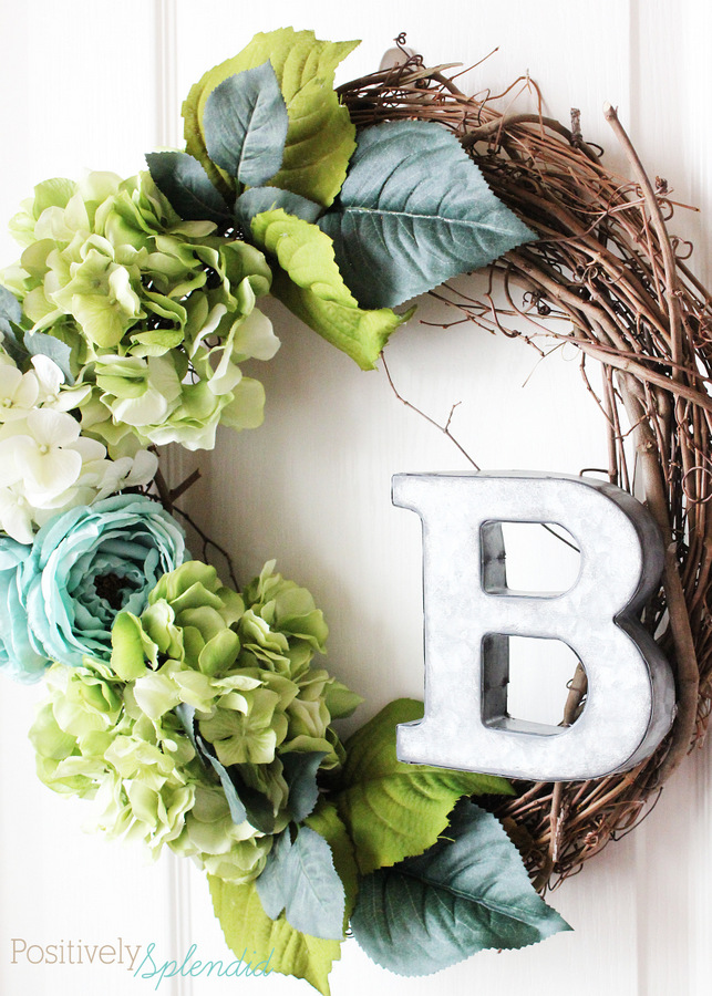 how to make a grapevine wreath with flowers
