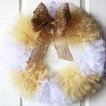 How to Make a Tulle Wreath