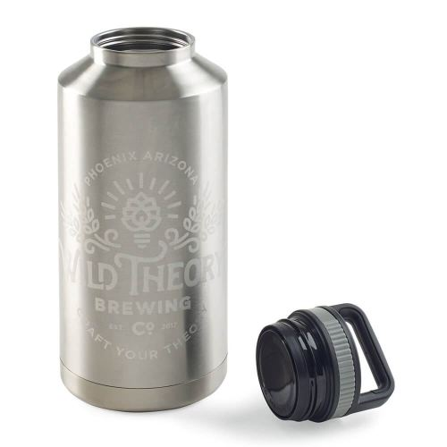 Flagrant Canyon Wall Stainless Steel Growler Personalizationavailable Canyon Wall Stainless Steel Growler Stainless Steel Growler Wholesale Stainless Steel Growler Reviews