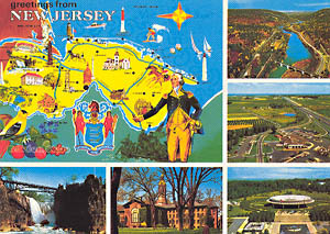 New Jersey Multi-View with Map
