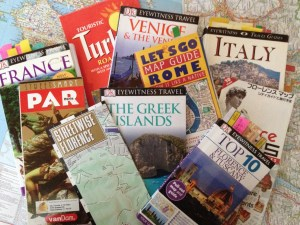 Favorite travel books and maps