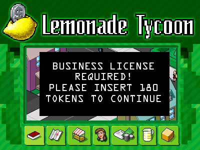 Lemonade Tycoon - Business License Required