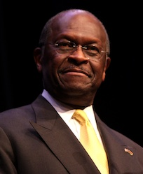 Herman Cain - Image From Wikipedia