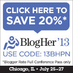 Meet Me in Chicago at BlogHer '13!