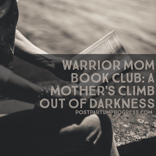 Warrior Mom Book Club: A Mother's Climb Out of Darkness -postpartumprogress.com