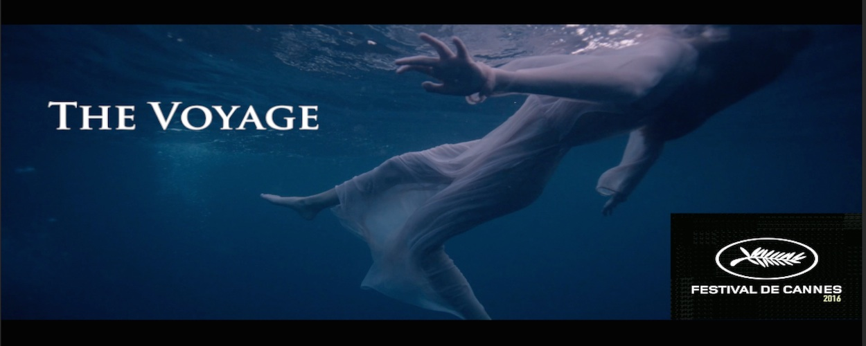 Banner poster for the Cannes Short Film The Voyage by BJ Formento and Formento & Formento and Jeremiah Bornfield Composer and Postsound Audio