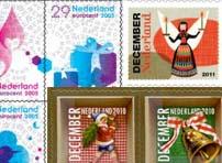 Gebuik oude decemberpostzegels