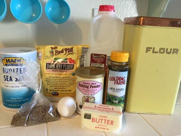 Rye Crackers Ingredients