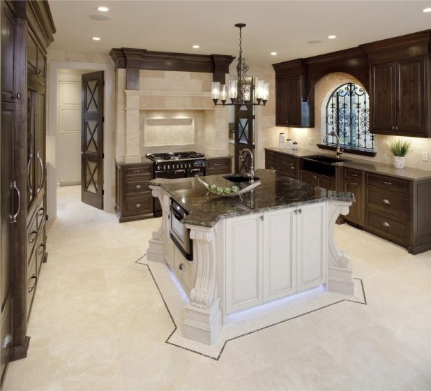 traditional-victorian-colonial-classic-kitchen Stunning And Contemporary Victorian Decorating Ideas