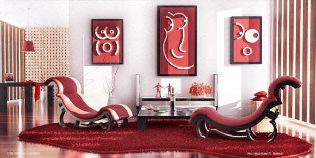 Interior-Red Discover the Furniture Trends for 2014