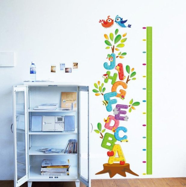 Removable-Cartoon-font-b-Letters-b-font-Body-Height-font-b-Wall-b-font-font-b What Are the Latest Home Decor Trends?