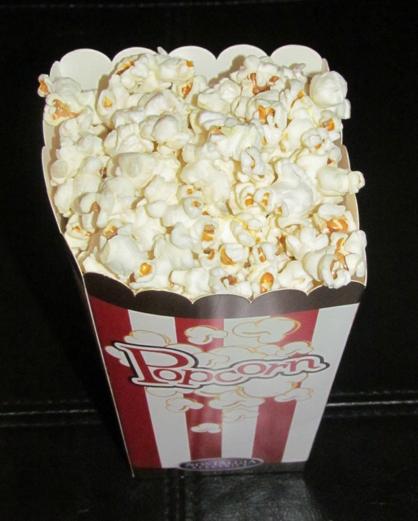 popcorn lightly salted